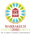 Logo COP22 - United nations conference on climate change
